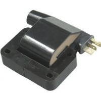 Car Engine Ignition Coil , Black Epoxy Resin 12V Dry Electronic Ignition Coil Manufactures