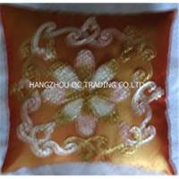 Handcrafted ribbon cushions Manufactures
