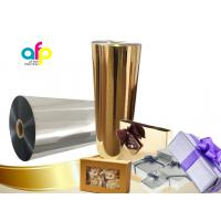 Buy cheap Chemically Treated Polysester Metallized Thermal Laminate Film for offset printing from wholesalers
