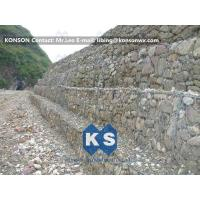Strong Welded Gabion Retaining Wall Stone Gabion Box For Roadway Protection Manufactures