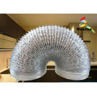 Quality HVAC customized length and size flexible silver aluminum foil duct for sale