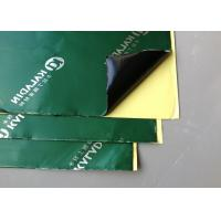 Soundproof Material Black Sound Dampening Pads For Car Doors / Floor Manufactures
