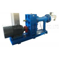 China Single Screw Silicone Rubber Extruder Machine CE SGS Approved 2 Year Warranty on sale