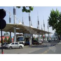 Security Space Frame Steel Structure Truss Purlin of Toll Station Manufactures