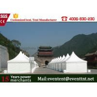 China Large commercial party tents Sidewall PVC Fabric Cover For Exhibition Promotion Event on sale
