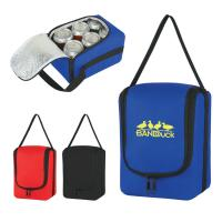 80gsm Non Woven Six Pack Bottle Cooler Bag Custom Logo Available Manufactures