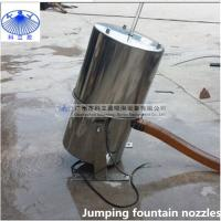 304 stainless steel Crystal jumping jets fountain nozzle with led light Manufactures