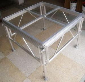 Glass Acrylic Stage Platform / Folding Aluminum Stage Platform Manufactures