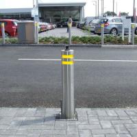 Hydraulic Rising Road Blockers Automatic Security Electric Trafict Lifing Bollards Manufactures