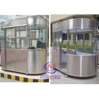 Outdoor Fibreglass Ticket Security Guard Booths / Mobile guard house Manufactures