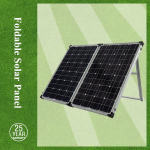 China 120w to 300w, triple sheet, foldable mono crystalline solar panel on sale