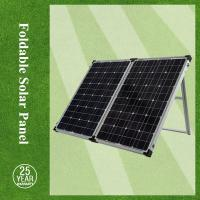 China Mono foldable solar panels 100w / solar panel foldable with controller cheap price on sale
