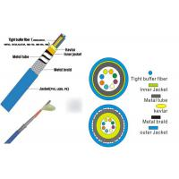 G652D Or G657A1 8 Cores Glass Optical Fiber Cable 300M To 2000M Per Reel Manufactures