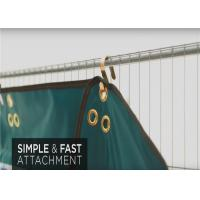 Quality Temporary Sound Barriers static-free non-flammable Suit Temp Fence Panels Size for sale