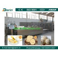 Peanut brittle Cereal Bar Forming And Cutting Machine Controlled by Siemens PLC Manufactures