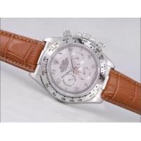 Wholesale Cheap rolex watch,ROLEX DAYTONA WORKING CHRONOGRAPH WHITE DIAL NUMBER MARKING Manufactures