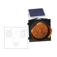 ABS Shell Solar Powered Traffic Signals Safety Warning Signs CE ROHS Certificated Manufactures
