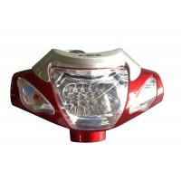 Electric Bicycle Parts Plastic Brightest  Bicycle Front Light With LED Lamp Manufactures
