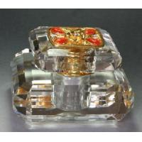Fine Clear Crystal Gift Perfume Bottle (JD-QSP-125) Manufactures