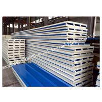 Lightweight Heat Insulation PU Sandwich Panels for Roof Cladding Systems Easy Assembling Manufactures