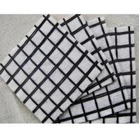 China Non - Woven Geosynthetic Materials Compound With Plastic / PP Biaxial Geogrid on sale