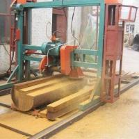 Woodworking band saw, can be driven by electrical engine or diesel engine, manual or automatic Manufactures