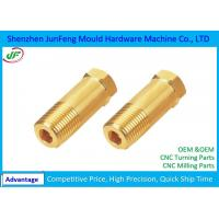 Precision CNC Brass Parts / Cnc Machined Components 100% Full Inspection Manufactures