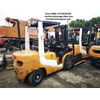 secondhand cheap Used 3 ton forklift TCM FD30 diesel forklift Manufactures