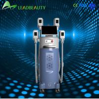 cryolipolysis machine with 4 treatment handles hot sale
