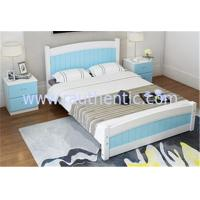 China Modern Apperance King Size Pine Bed , Single Wooden Frame Beds With Drawers on sale
