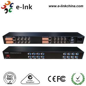 16 Channel Active UTP Video Balun , 19 '' 1U UTP Video Transceiver Manufactures