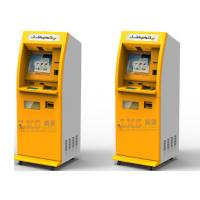 Self Service Banking Interactive ATM Machine With Information Access Cash Dispenser Manufactures