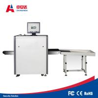 Quality 43 Mm Steel Penetrate Airport Security Scanners , Baggage Scanning Machine 500*300mm for sale