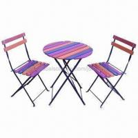 Recreation Table/Bistro Set, Enquiry Metal-wood Furniture Manufactures