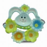 18 x 15cm Ceramic Tapas Dish with Glazed Color, OEM Orders are Welcome Manufactures