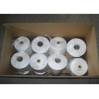 China 60s/3 100% Polyester Sewing Yarn , Raw White For Embroidery on sale
