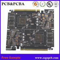 Polyimide and FR4 Rigid Flexible PCB, Multilayer FPC circuit board for computer and mobile motherboard Manufactures