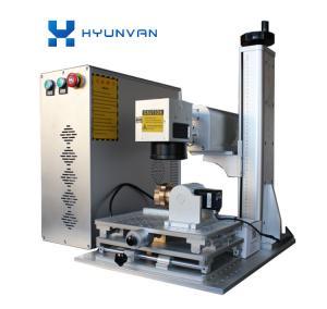 China Energy Saving Fiber Laser Marking Machine Laser Marker With Galvenometer Head on sale