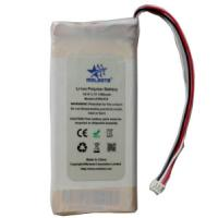 Quality 3.7V Custom Lithium Polymer Battery Pack 1300mAh With UN Approved for sale