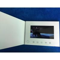 2019 customizable 7inch screen size launch video brochure card personalized video greeting cards video book Manufactures