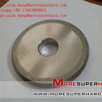 Electroplated Diamond Grinding Wheels for Profile Forming Or Surface Grinding Of Marble alan.wang@moresuperhard.com Manufactures