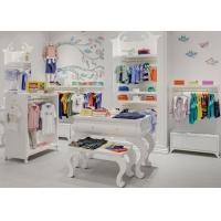 Kids Shop Display Furniture / Retail Apparel Fixtures Lovely Elegant Style Manufactures