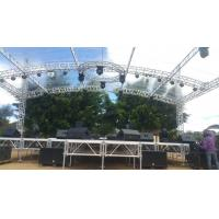 Quality Customized Height Aluminum Lighting Truss With Roof System / LED Alunimum Truss System for sale