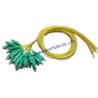 Quality SM LAN Optical Fiber Pigtail 12 Pack SC / APC Low Insertion Loss for sale