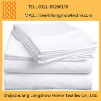 Buy cheap 100% Polyester Bed Sheet Hotel Hospitality Guest Rooms Beddings Microfiber Sets from wholesalers