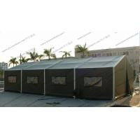 6x12M Green Military High Peak Tent For Outdoor Army Use , Pvc Canvas Tent Manufactures