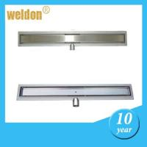 Long Stainless Steel Shower Drain Ultimate Linear Floor Drain for bathroom floor Manufactures