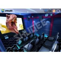 Small Mobile 7D Movie Theater With 9 seats possess Intelligent 7D control system Manufactures
