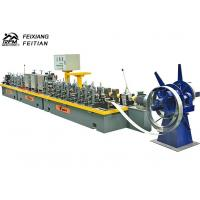 Straight Seam High Frequency Pipe Welding Machine FX50 For Petrol Transmission Manufactures