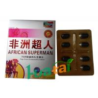 African Superman Pills Herbal Male Enhancement Sex Tablets Erection Pill with 72 hours Manufactures